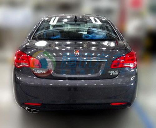 合变速器 改款荣威550于8月上市高清图片