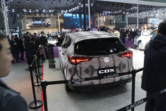 讴歌概念车NSX